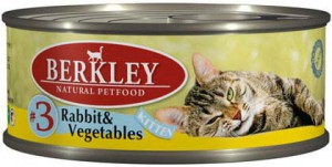 Корм для кошек Berkley (Беркли)